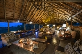private botswana safari luxury camp