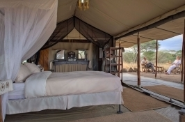 luxury lodging Private Tanzania Safari