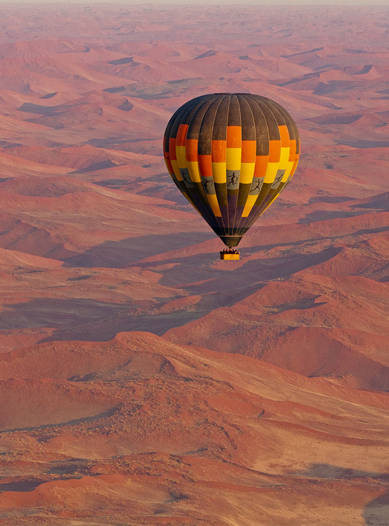 Namibia: Soar above biggest sand dunes in the world in the Sossusvlei National Park